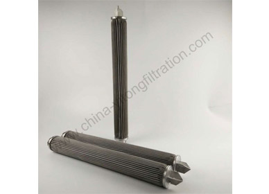 SS Wire Mesh Pleated Filter Cartridge