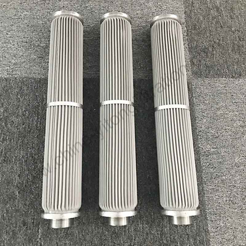 SS Wire Mesh Pleated Filter Cartridge Manufacturer