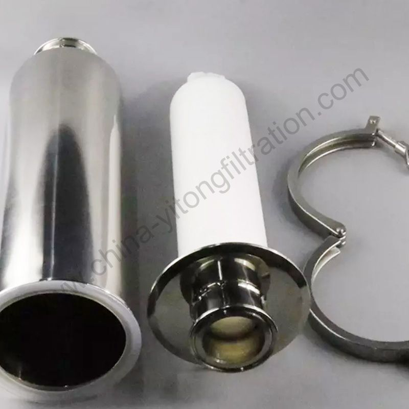 Sanitary Aseptic Air SS GAS Vent Filter