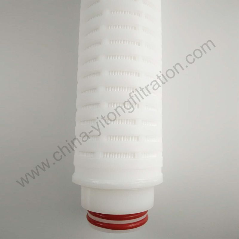 Glass Fiber Grape Wine Filter Machine Pleated Filter Cartridge