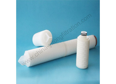 Do you know these three advantages of PP Pleated Filter Cartridge?