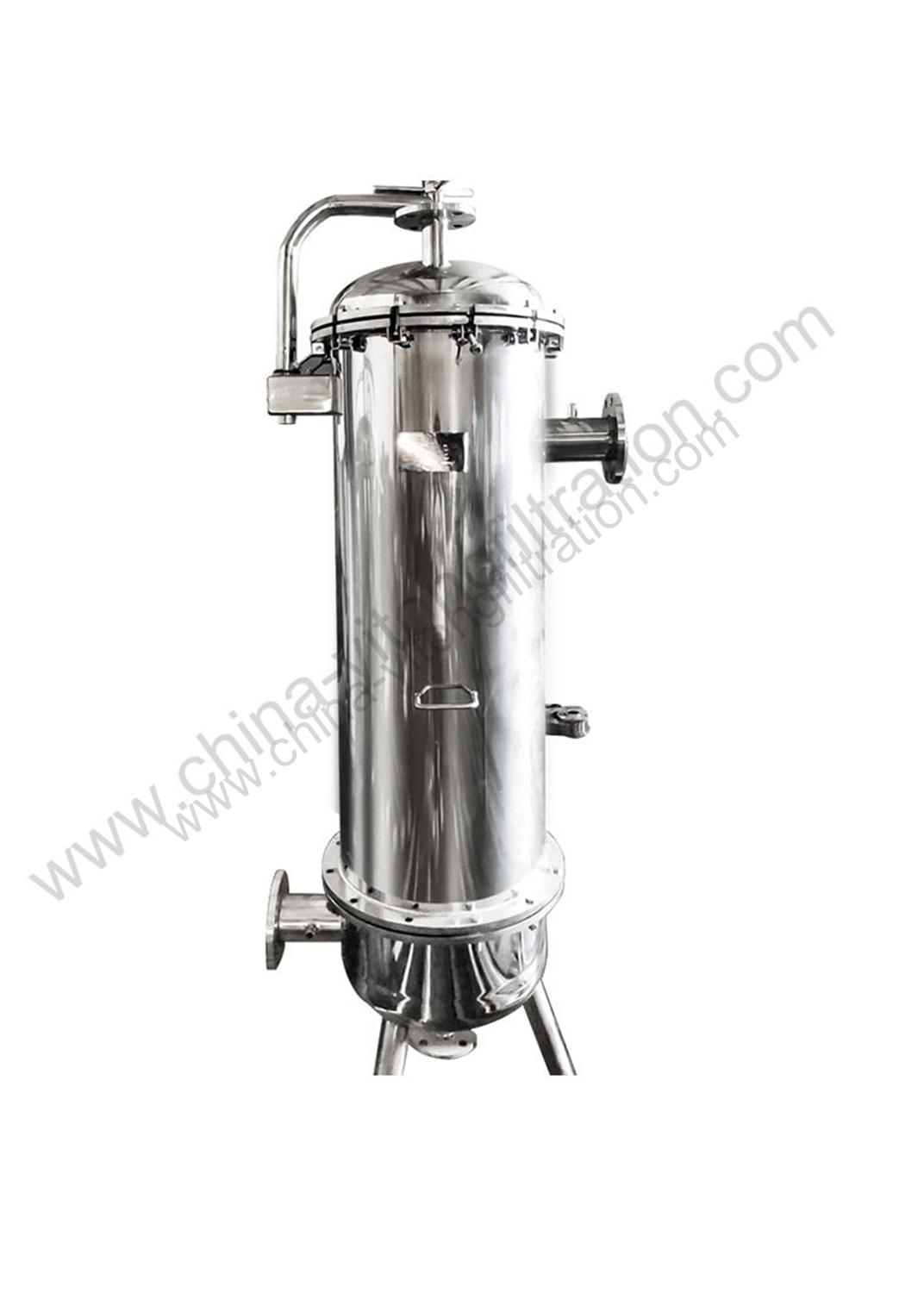 High Flow Rate Filter Housing