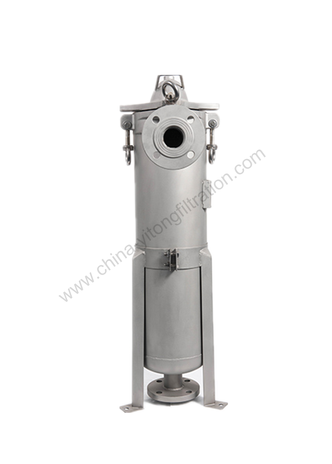 Top Entry Bag Filter Housing
