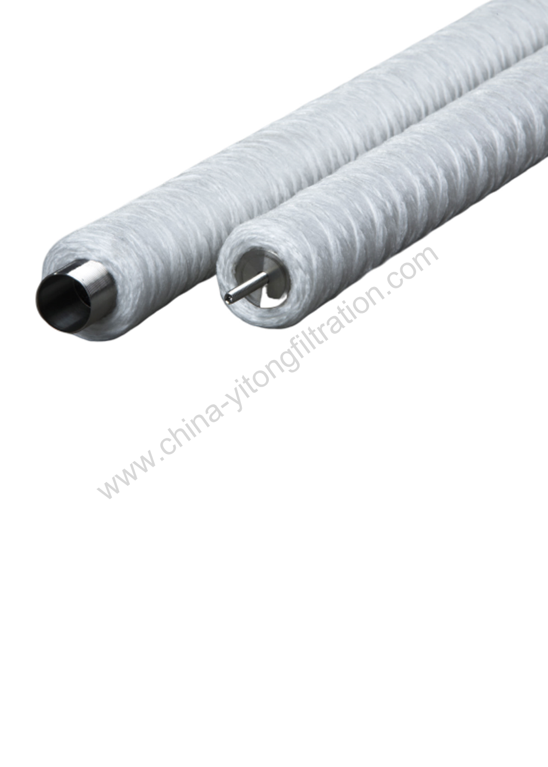 String Wound Condensate Treatment Filter Cartridge