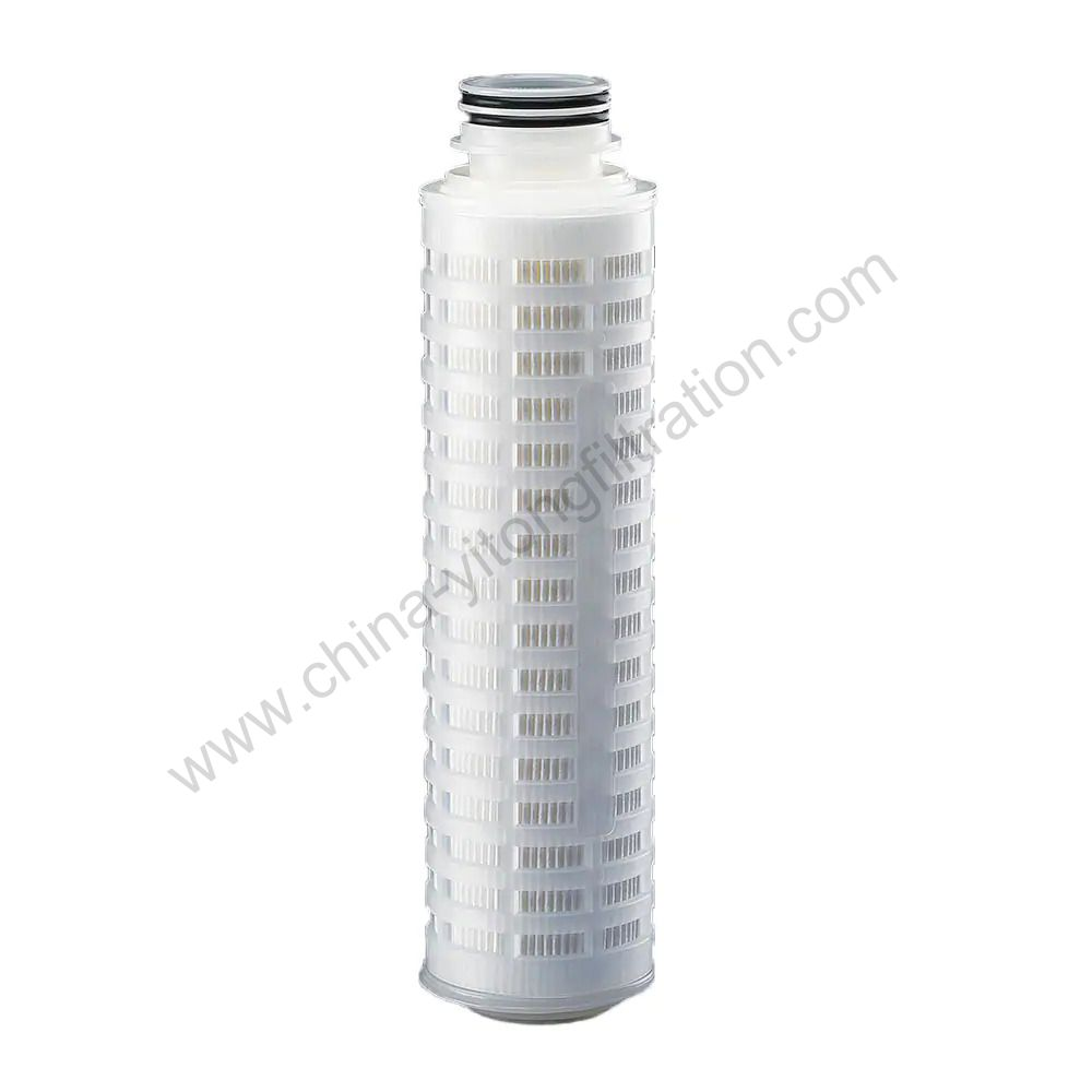 Hydrophilic PTFE Pleated Filter Cartridge